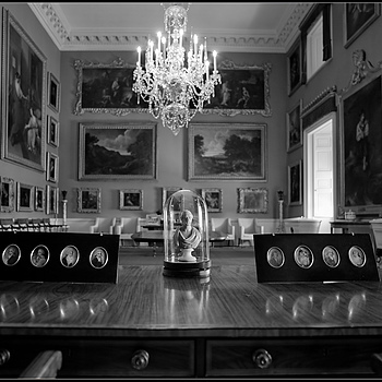 """The Writing Desk, Stourhead House, Wiltshire, England"" 