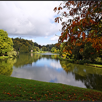 The Lake, Stourhead Estate, Wiltshire, England"