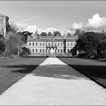 Dyrham Park House, Rear Elevation, Gloucestershire, England | ZEISS PLANAR F1.4 50MM <br> Click image for more details, Click <b>X</b> on top right of image to close