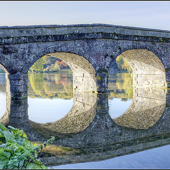 Bridge on the Stourhead Estate, Wiltshire, England | ZEISS DISTAGON F2.8 21MM