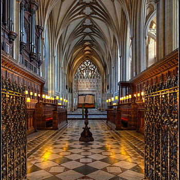 Through the Choir, Bristol Cathedral, Avon&Somerset, England | ZEISS DISTAGON F2.8 21MM <br> Click image for more details, Click <b>X</b> on top right of image to close