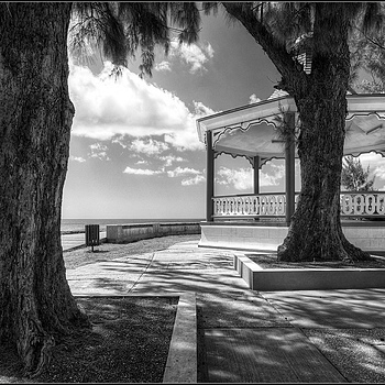 The Bandstand at Hastings Rocks, Christ Church, Barbados, West Indies