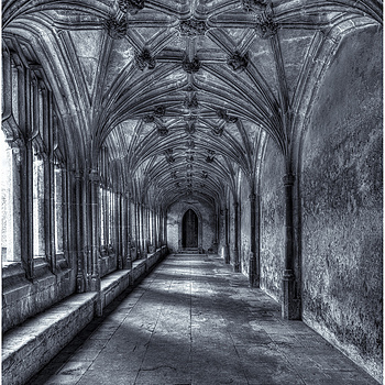 Cloisters | ZEISS DISTAGON F2.8 21MM <br> Click image for more details, Click <b>X</b> on top right of image to close