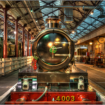 Christmas at STEAM - Museum of the Great Western Railway | ZEISS FE 35MM F2.8 ZA <br> Click image for more details, Click <b>X</b> on top right of image to close