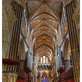 From the Top of the Nave | ZEISS DISTAGON F2.8 21MM <br> Click image for more details, Click <b>X</b> on top right of image to close