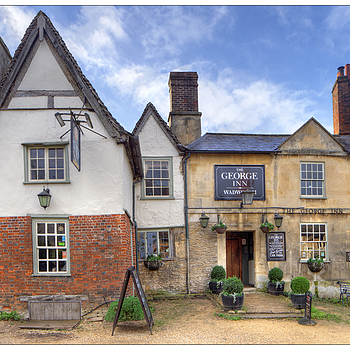 The George Inn, Lacock Village, Withshire, England | LENS MODEL NOT SET <br> Click image for more details, Click <b>X</b> on top right of image to close