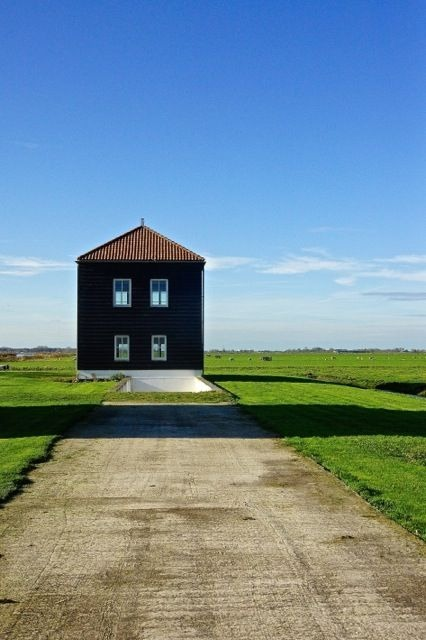 Dutch landscape. Unoccupied house | LENS MODEL NOT SET <br> Click image for more details, Click <b>X</b> on top right of image to close