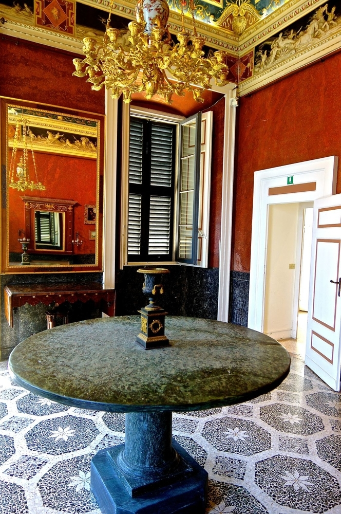 Interior, Villa Carlotta, Tremezzo | LENS MODEL NOT SET <br> Click image for more details, Click <b>X</b> on top right of image to close