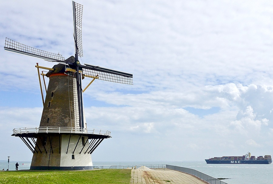 Mill on the Schelde near Vlissingen | SONY DT 16-50MM F2.8 SSM (SAL1650) <br> Click image for more details, Click <b>X</b> on top right of image to close