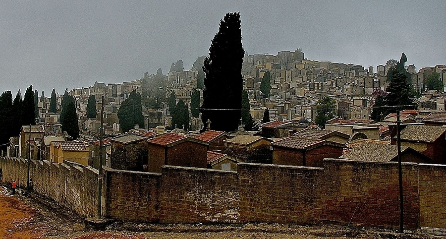 Cimitero, Enna, Sicilia | LENS MODEL NOT SET <br> Click image for more details, Click <b>X</b> on top right of image to close