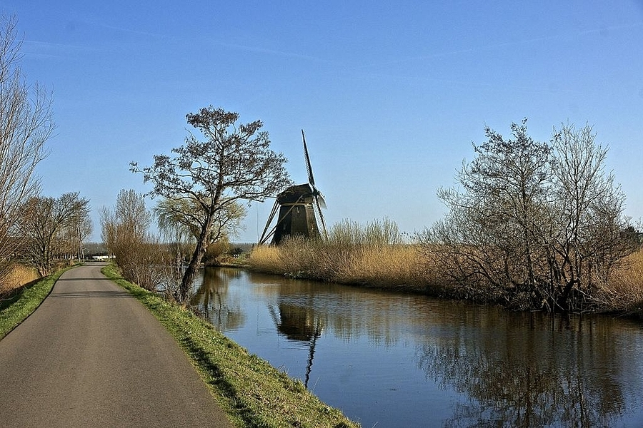 Mill at the River 't Gein near Amsterdam | LENS MODEL NOT SET <br> Click image for more details, Click <b>X</b> on top right of image to close