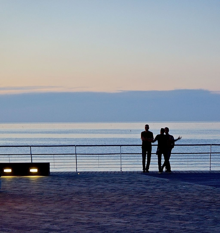 Evening in Pesaro | LENS MODEL NOT SET <br> Click image for more details, Click <b>X</b> on top right of image to close
