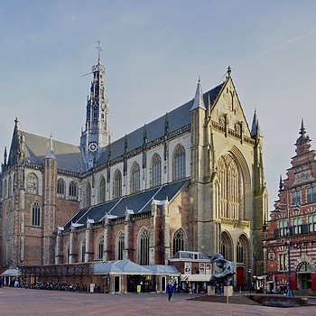 St. Bavo, Grote Markt, Haarlem | SONY DT 16-50MM F2.8 SSM (SAL1650) <br> Click image for more details, Click <b>X</b> on top right of image to close