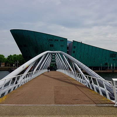 J.J. van der Veldebrug, Nemo Science Museum, Amsterdam | CARL ZEISS VARIO-SONNAR T* DT 16-80MM F3.5-4.5 ZA (SAL1680Z) <br> Click image for more details, Click <b>X</b> on top right of image to close