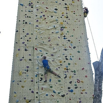 Climbing wall, Amsterdam | LENS MODEL NOT SET