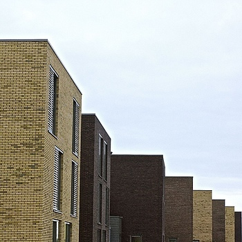 Brand new houses, IJburg, Amsterdam | | LENS MODEL NOT SET