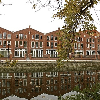 Brand new houses, Oranje Vrijstaatkade, Amsterdam | LENS MODEL NOT SET