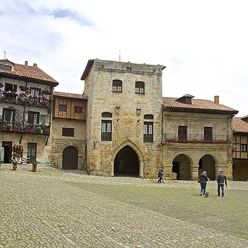 Plaza Mayor de Ramon y Pelayo, Santillana del Mar | LENS MODEL NOT SET <br> Click image for more details, Click <b>X</b> on top right of image to close