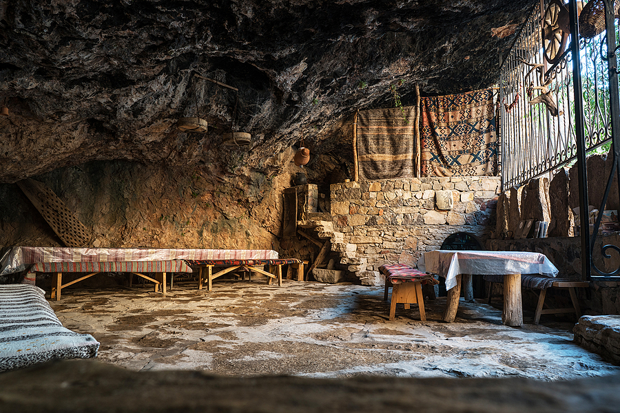 Restaurant in a natural cave | ZEISS 25MM F2 DISTAGON <br> Click image for more details, Click <b>X</b> on top right of image to close
