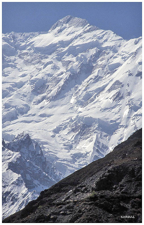 Rakaposhi from the Karakoram Highway, Northern Pakistan | ZEISS CY SONNAR 180MM F2.8 <br> Click image for more details, Click <b>X</b> on top right of image to close