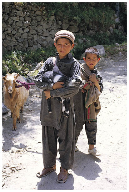 Shepherd boys, Hunza Valley, Northern Pakistan | ZEISS CY PLANAR 50MM F1.7 <br> Click image for more details, Click <b>X</b> on top right of image to close