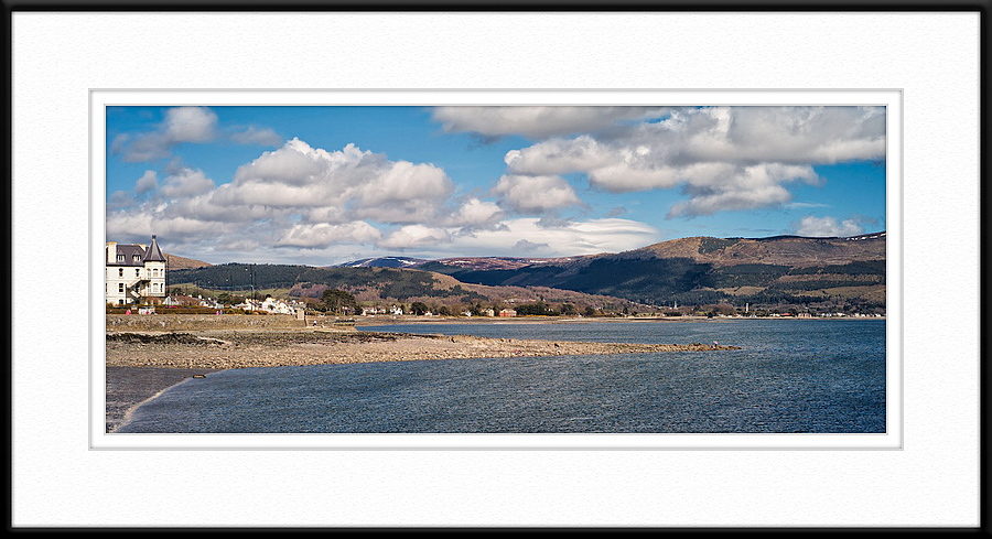 Rostrevor and the Mourne Mountains from Warrenpoint, Co Down, N. Ireland | ZEISS ZM C BIOGON F2.8 35MM <br> Click image for more details, Click <b>X</b> on top right of image to close