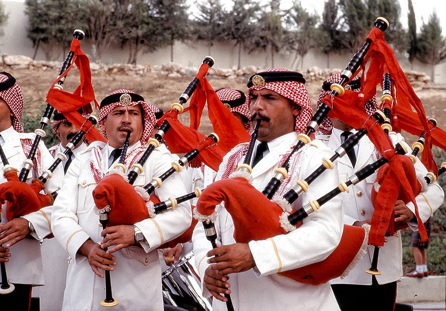 Jordanian Pipe Band | ZEISS CY PLANAR 50MM F1.7 <br> Click image for more details, Click <b>X</b> on top right of image to close
