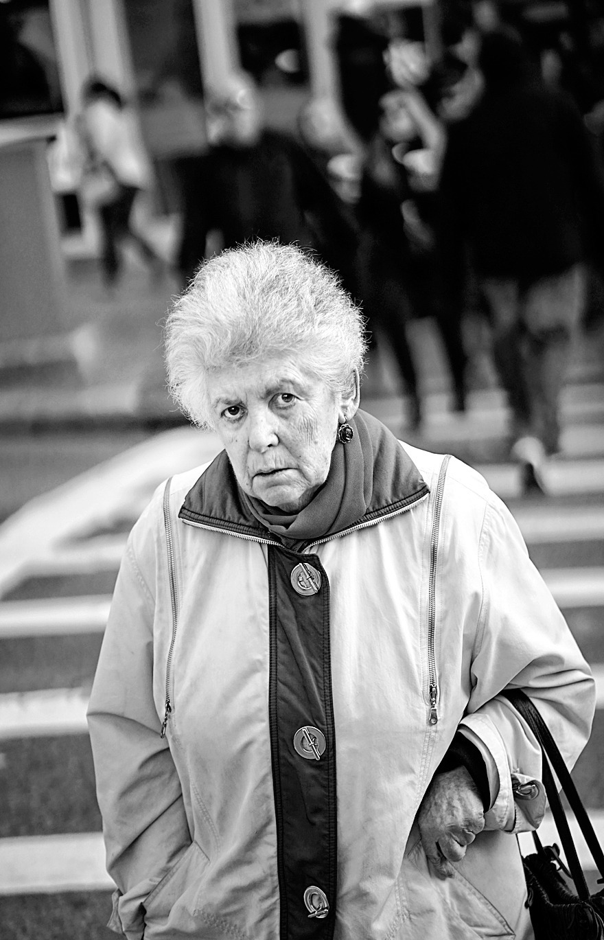 Smile, Grandma! | ZEISS 85MM F1.8 SONNAR <br> Click image for more details, Click <b>X</b> on top right of image to close