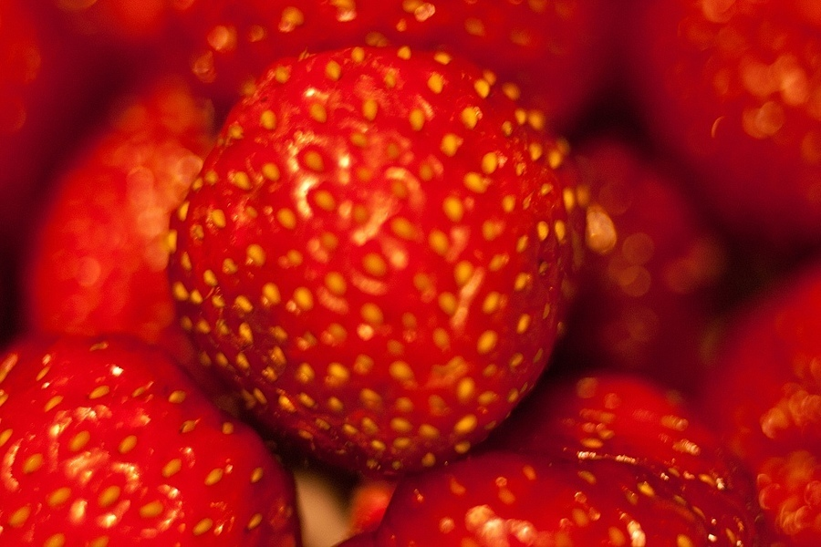 Strawberries | ZEISS JENA FLEKTOGON F2.4 35MM <br> Click image for more details, Click <b>X</b> on top right of image to close