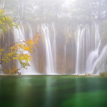 Misty Falls | ZEISS CY VARIO-SONNAR 35-70MM F3.4 <br> Click image for more details, Click <b>X</b> on top right of image to close