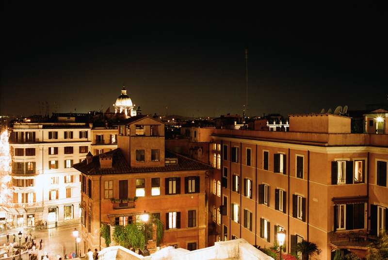 Rome From the Top of Spanish Steps | ZEISS ZM BIOGON F2.0 35MM <br> Click image for more details, Click <b>X</b> on top right of image to close