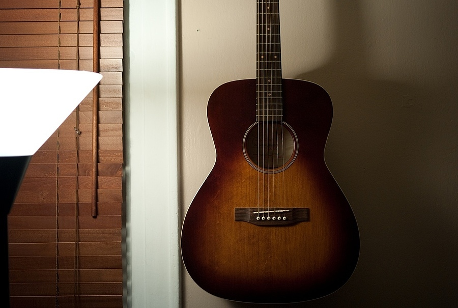 A lonely guitar | ZEISS ZM BIOGON F2.8 25MM <br> Click image for more details, Click <b>X</b> on top right of image to close