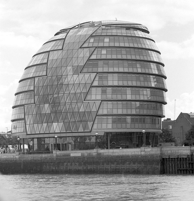 City Hall, London | ZEISS CFI SONNAR F4 180MM <br> Click image for more details, Click <b>X</b> on top right of image to close