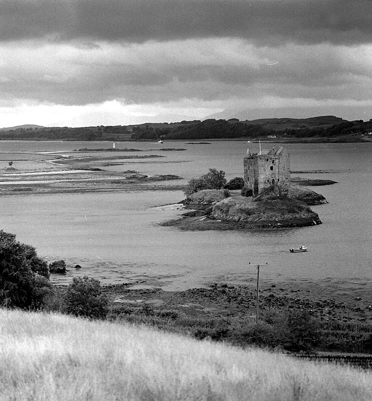 Castle Stalker,Scotland. | ZEISS CFI SONNAR F4 180MM <br> Click image for more details, Click <b>X</b> on top right of image to close