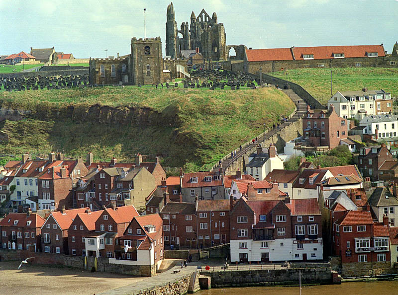 Whitby, Yorks. | ZEISS CFI SONNAR F4 180MM <br> Click image for more details, Click <b>X</b> on top right of image to close