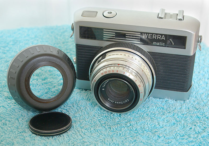 Werramatic with Carl Zeiss Jena Tessar | LENS MODEL NOT SET <br> Click image for more details, Click <b>X</b> on top right of image to close