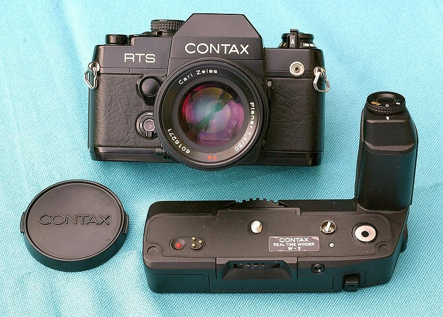 PLANAR on CONTAX RTS II Quartz | LENS MODEL NOT SET <br> Click image for more details, Click <b>X</b> on top right of image to close