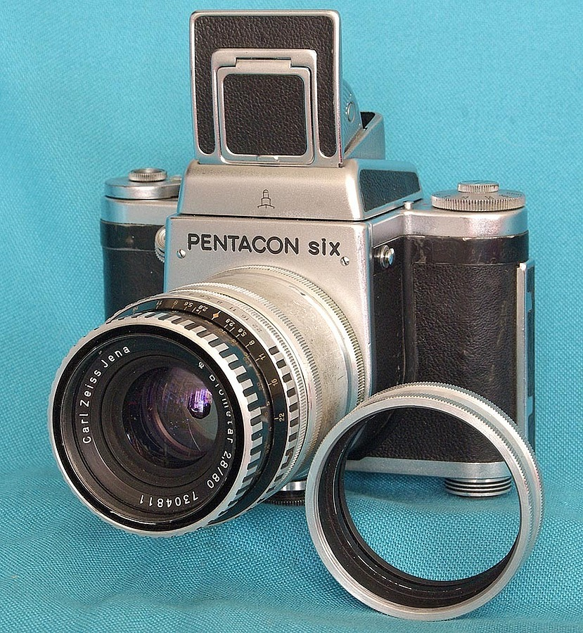 Carl Zeiss Biometar on Pentacon Six | LENS MODEL NOT SET <br> Click image for more details, Click <b>X</b> on top right of image to close