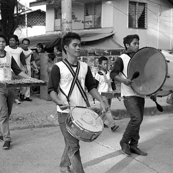 Filipino band | ZEISS CY TESSAR 45MM F2.8 <br> Click image for more details, Click <b>X</b> on top right of image to close