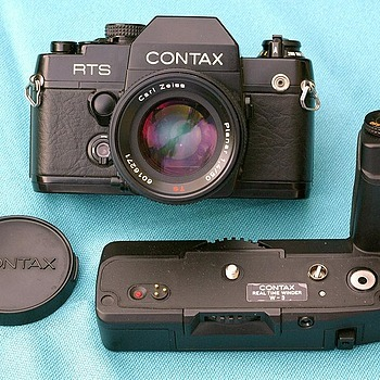 PLANAR on CONTAX RTS II Quartz | LENS MODEL NOT SET