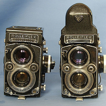 3.5 Planar ROLLEIFLEXES | LENS MODEL NOT SET <br> Click image for more details, Click <b>X</b> on top right of image to close