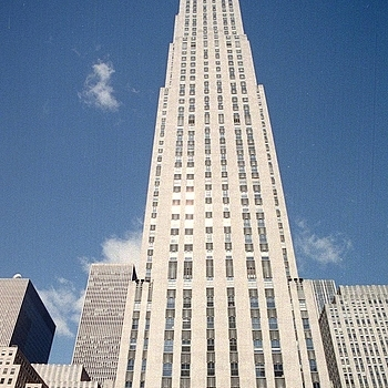 The Rockefeller Centre NYC | ZEISS JENA 24MM F2.8