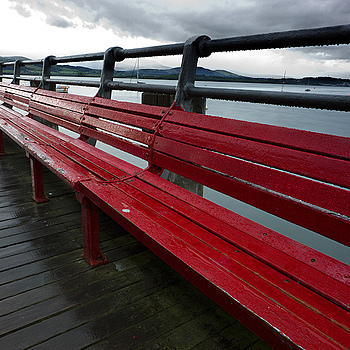 Beaumaris Pier Bench | ZEISS ZM BIOGON F2.8 21MM <br> Click image for more details, Click <b>X</b> on top right of image to close