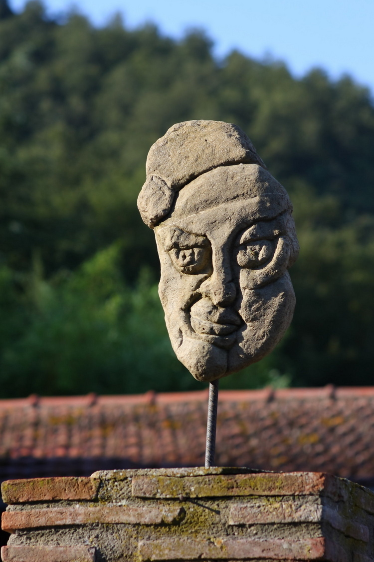 Stone Mask - Umbria Countryside | ZEISS CY PLANAR 85MM F1.4 <br> Click image for more details, Click <b>X</b> on top right of image to close