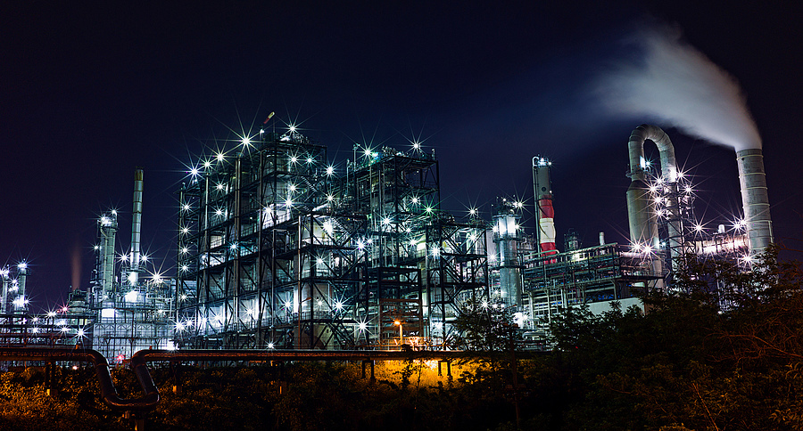 S Oil Refinery | ZEISS ZM C BIOGON F2.8 35MM <br> Click image for more details, Click <b>X</b> on top right of image to close