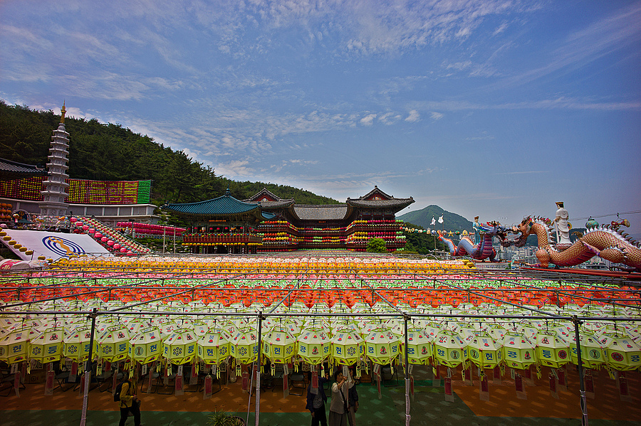 zeissimages.com gallery | Preparing For Buddha's Birthday Festival In Busan | Zeiss ZM Distagon  f2.8 15mm | LEICA M9P