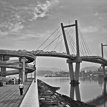 Sanbong Bridge in Anmyeong-do | ZEISS ZM C BIOGON F2.8 35MM <br> Click image for more details, Click <b>X</b> on top right of image to close