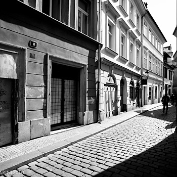 Prague, alleys | ZEISS DISTAGON F3.5 18MM <br> Click image for more details, Click <b>X</b> on top right of image to close