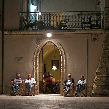 Otranto - night cool | ZEISS G PLANAR 45MM F2 <br> Click image for more details, Click <b>X</b> on top right of image to close