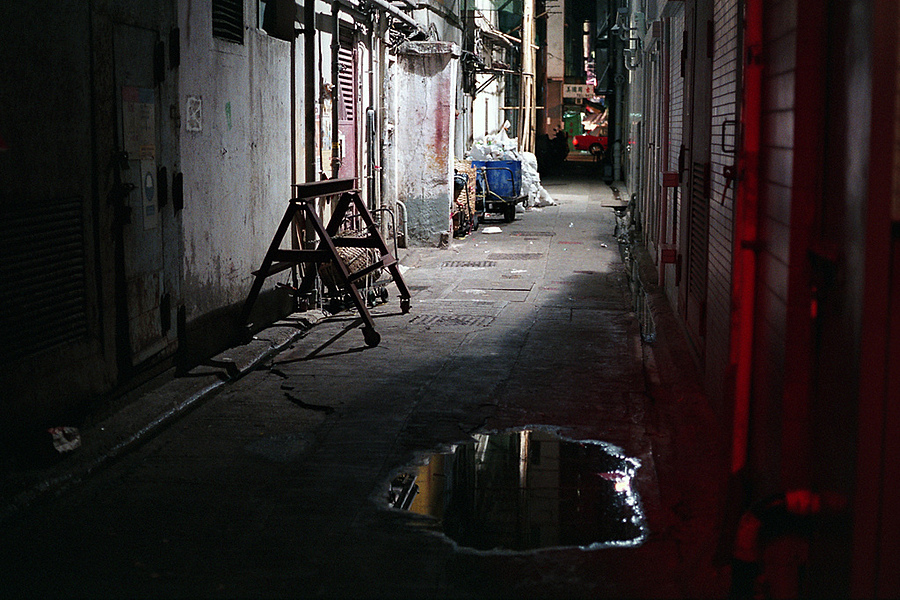 Back Alley, Yau Ma Tei, Hong Kong | ZEISS G PLANAR 45MM F2 <br> Click image for more details, Click <b>X</b> on top right of image to close